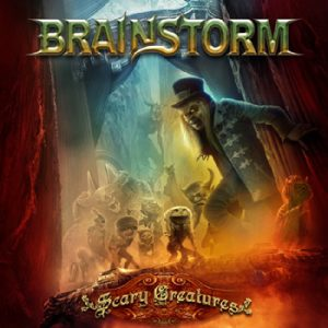 BRAINSTORM - Scary creatures      CD&DVD
