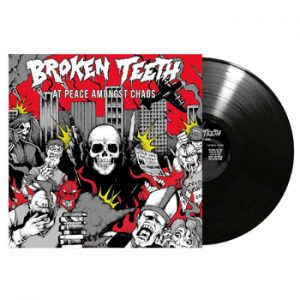 BROKEN TEETH - At peace amongst chaos      LP