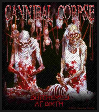 CANNIBAL CORPSE - Butchered      Aufnäher