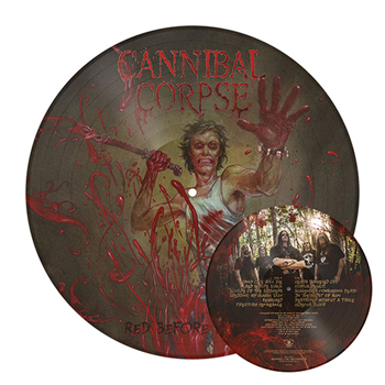 CANNIBAL CORPSE - Red before black      LP