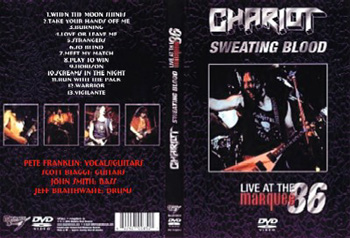 CHARIOT - Sweating blood      DVD