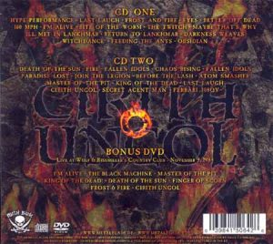 CIRITH UNGOL - Servants of chaos & DVD      2-CD