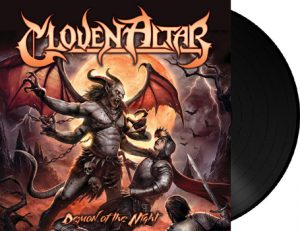 CLOVEN ALTAR - Demon of the night      LP