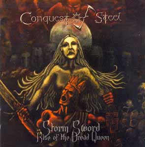 CONQUEST OF STEEL - Storm sword - rise of the Dread Queen      CD