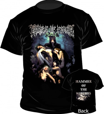CRADLE OF FILTH - Hammer of the witches - size L      T-Shirt - 100 % Baumwolle
