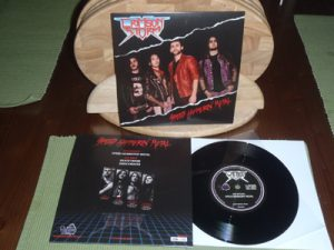 CRIMSON STORM - Speed hammerin` metal      Single