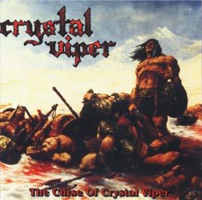 CRYSTAL VIPER - The curse of Crystal Viper      CD