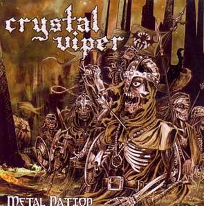 CRYSTAL VIPER - Metal nation      CD