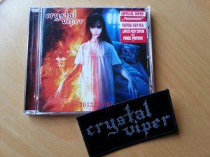 CRYSTAL VIPER - Possession & patch (solange Vorrat!)      CD