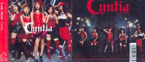 CYNTIA - Lady made      CD