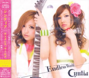 CYNTIA - Endless world      CD&DVD