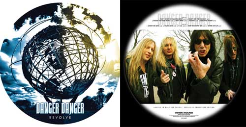 DANGER DANGER - Revolve - lim. 250 copies      LP