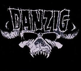 DANZIG - Skull      Aufnäher