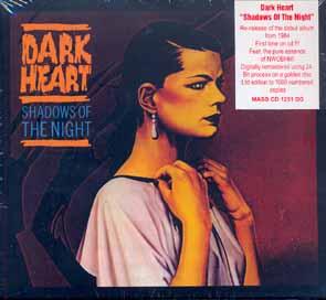 DARK HEART - Shadows of the night      CD