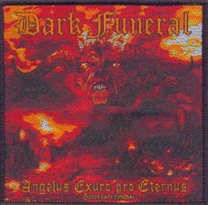 DARK FUNERAL - Angelus exuro pro      Aufnäher