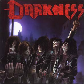 DARKNESS - Death squad      CD