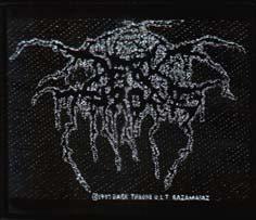 DARKTHRONE - Logo      Aufnäher
