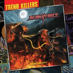 DEADLY FORCE - From this hell      Maxi CD