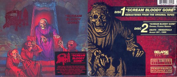 DEATH - Scream bloody gore - rerelease      2-CD