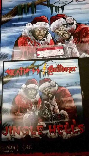 DEATH SS / BULLDÖZER - Jingle hells      10""