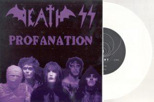 DEATH SS - Profanation - white vinyl      Single