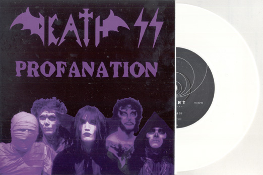 DEATH SS - Profanation - white vinyl      Single