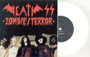 DEATH SS - Zombie / Terror - white vinyl      Single