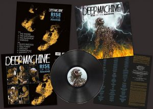 DEEP MACHINE - Rise of the machine      LP