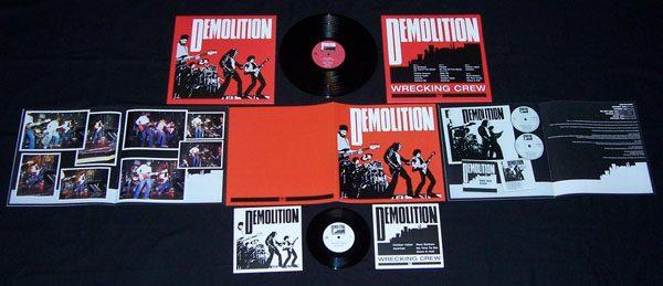 """DEMOLITION - Wrecking crew & 7""""      LP"""