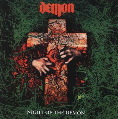 DEMON - Night of the demon & 4 bonustracks      CD