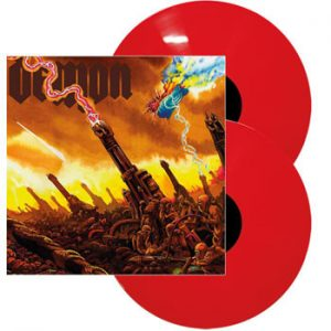 DEMON - Taking the world by storm - red vinyl      DLP
