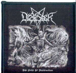 DESASTER - The arts of destruction      Aufnäher
