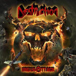 DESTRUCTION - Under attack      CD