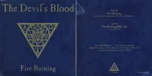 THE DEVIL`S BLOOD - Fire burning      Single