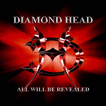 DIAMOND HEAD - All will be revealed - col. vinyl      LP