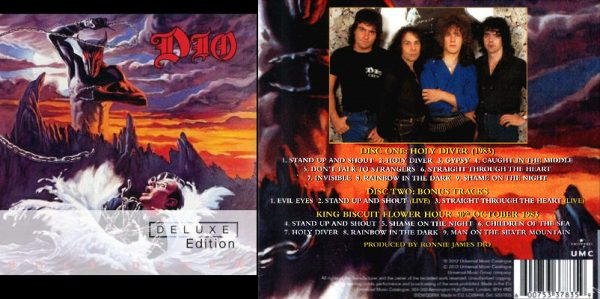 DIO - Holy diver - deluxe version      2-CD