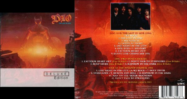 DIO - The last in line - deluxe version      2-CD