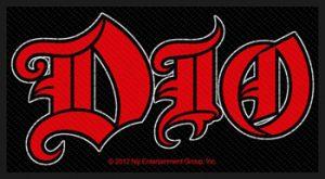 DIO - Logo      Aufnäher