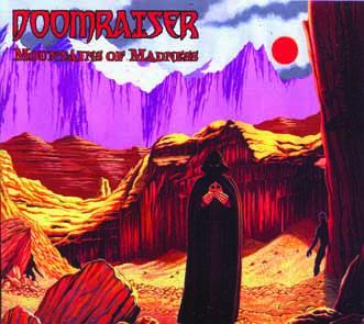 DOOMRAISER - Mountains of madness - digipak      CD