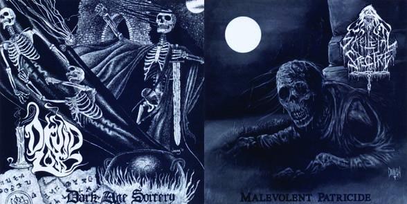 DRUID LORD / SKELETAL SPECTRE - split EP - col. vinyl!      Single