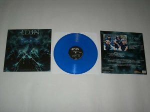 EDEN - Judgement day - blue vinyl limited 150      MLP