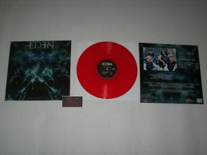 EDEN - Judgement day - red vinyl & classic EDEN patch - limited 100 - HOA edition!      MLP
