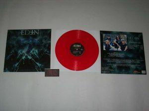 EDEN - Judgement day - red vinyl & classic EDEN patch - limited 100 - HOA edition!      MLP