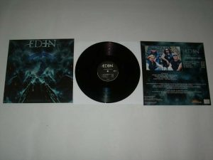 EDEN - Judgement day - black vinyl limited 250      MLP