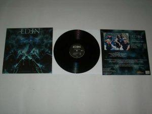 EDEN - Judgement day - black vinyl limited 250      MLP