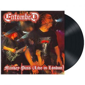 ENTOMBED - Monkey puss - Live in London      LP