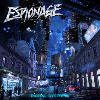 ESPIONAGE - Digital dystopia      CD