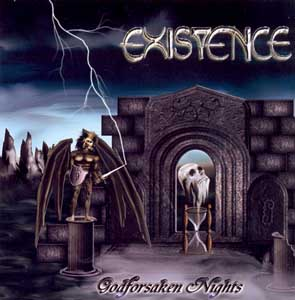 EXISTENCE - Godforsaken nights      CD