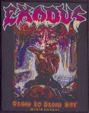 EXODUS - Blood in, blood out      Aufnäher