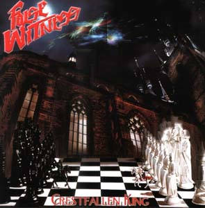 FALSE WITNESS - Crestfallen king      CD